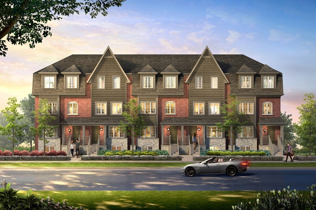 Traditional 3 Storey Condo Towns