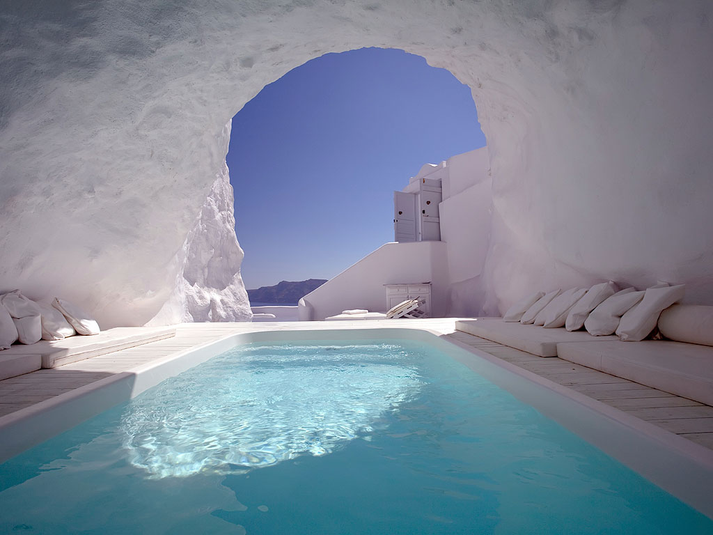 cave pool greece