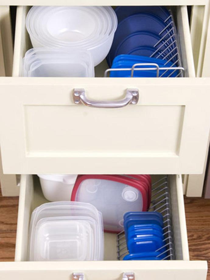 cd rack storage kitchen hack
