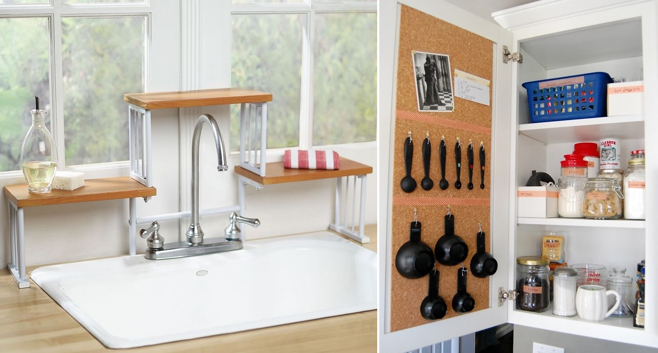 25 insanely clever kitchen organization hacks