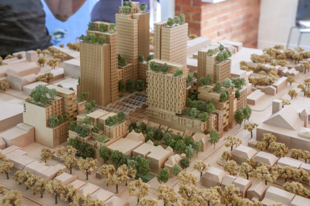 westbank-mirvish-village-model