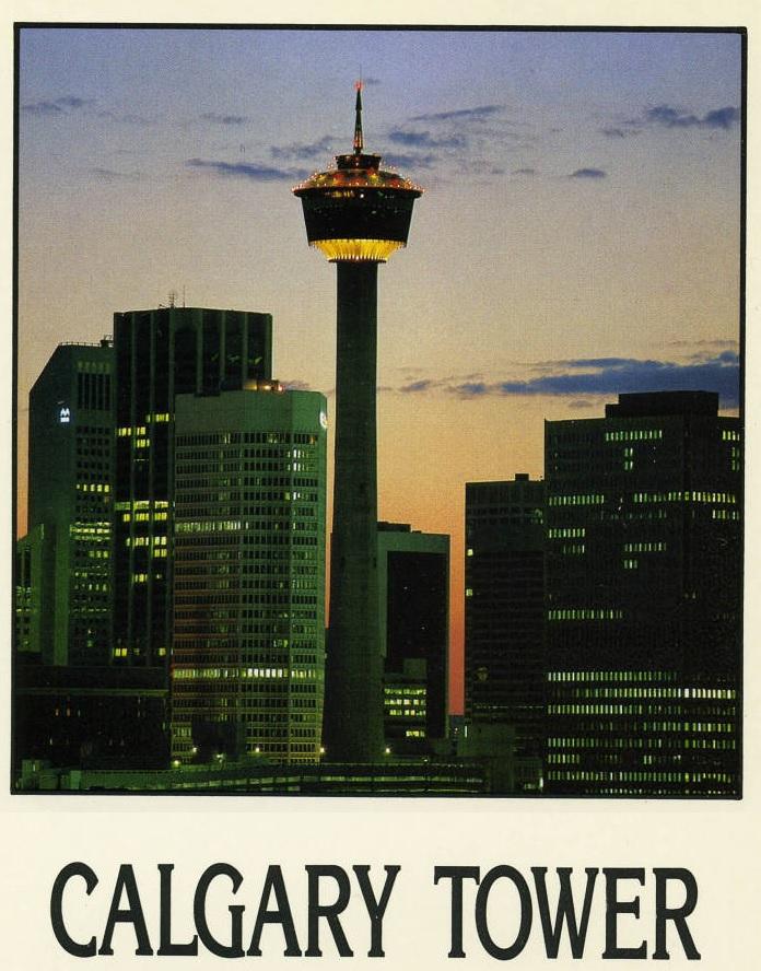 Calgary Tower 1970s