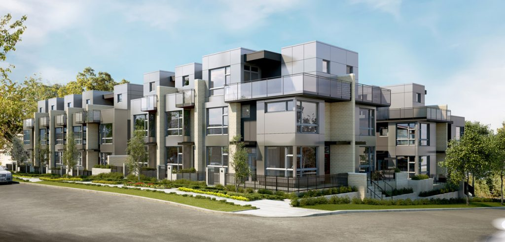 Churchill townhomes Vancouver