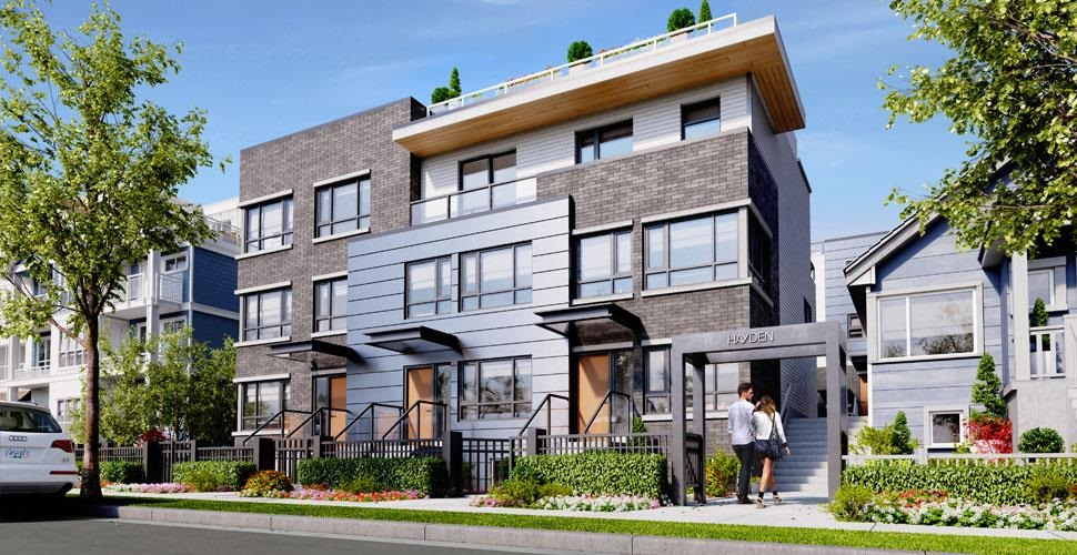 Hayden Towhomes Vancouver