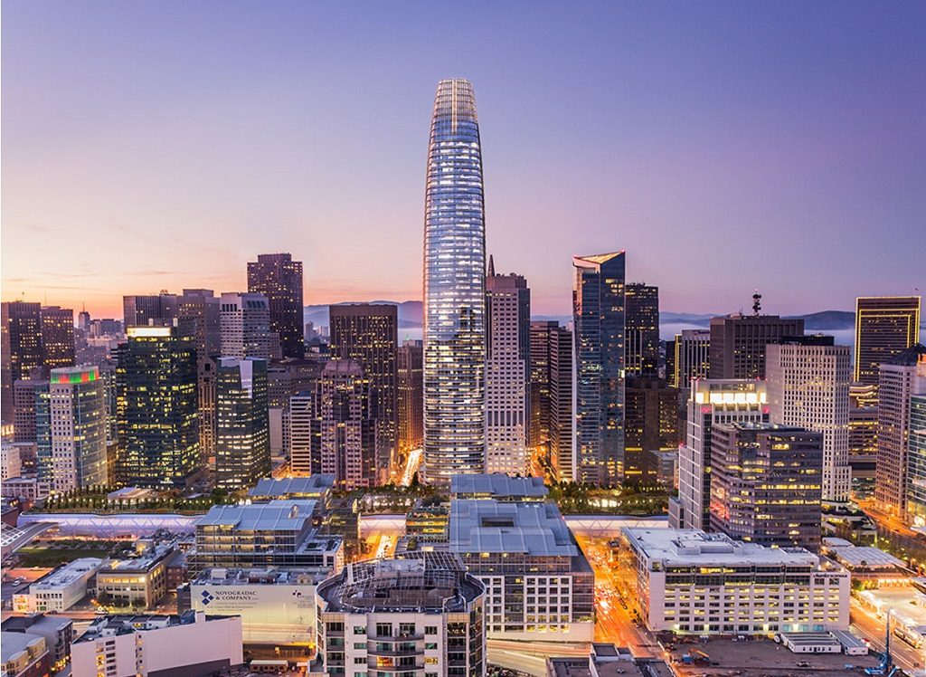 Salesforce tower San Francisco tallest building