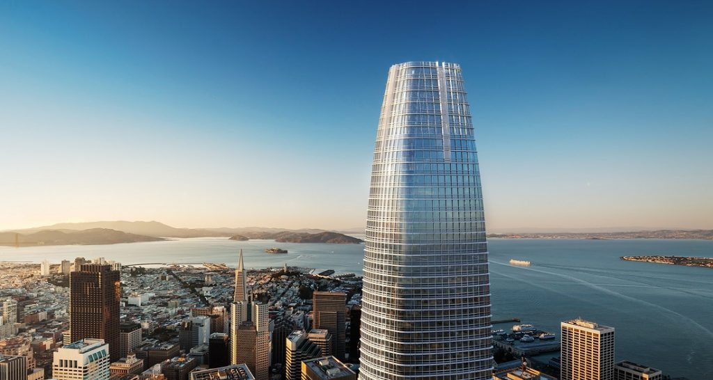 Salesforce tower San Francisco tallest building 2