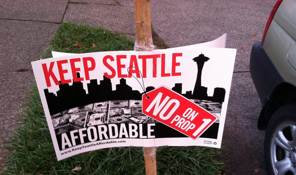 Seattle housing election