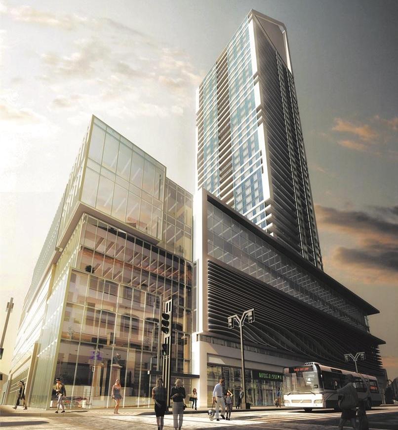 SkyCity Centre Winnipeg condos