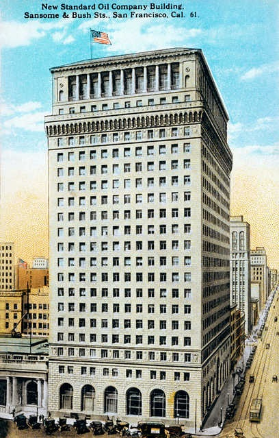 Standard Oil Building San Francisco tallest buildings