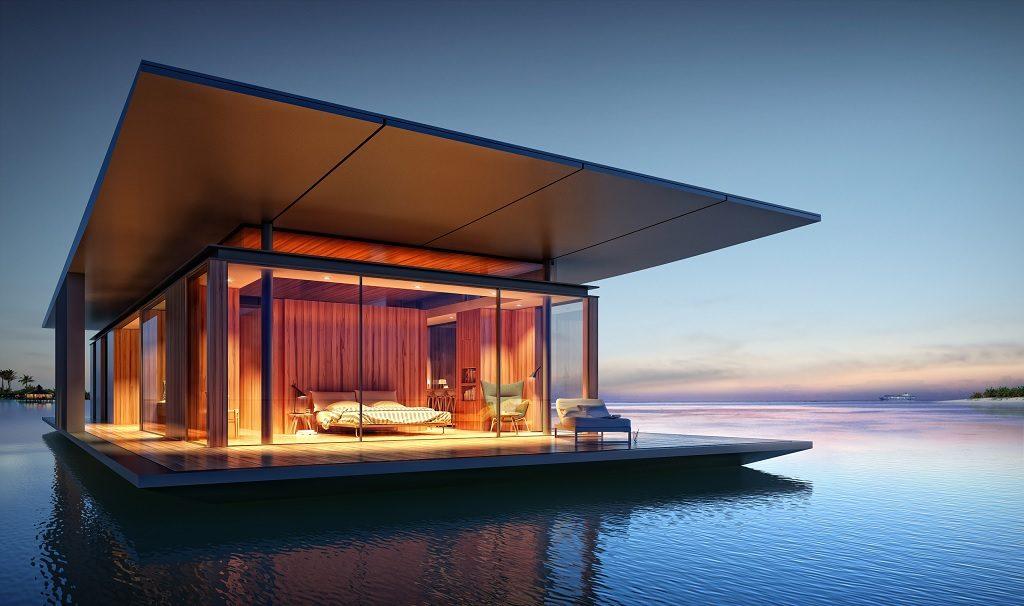 floating bedroom