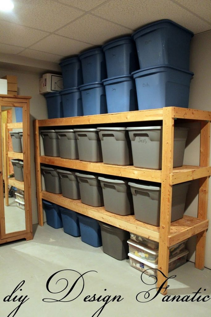 garage storage shelf diy