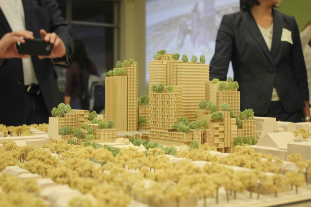 mirvish-village-proposal-model