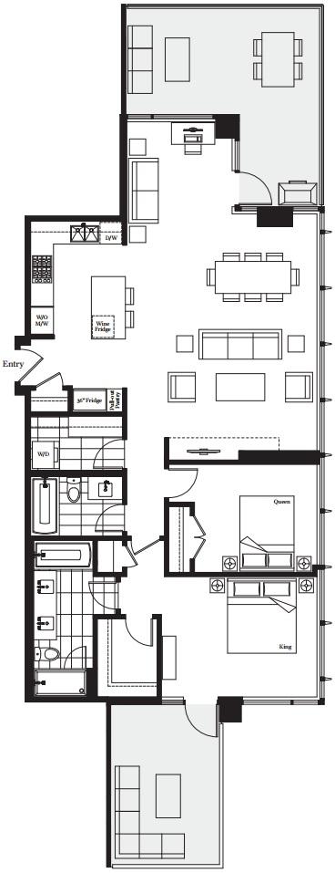 Modello H Plan Burnaby condos