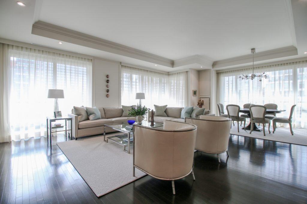 Optimized-living area