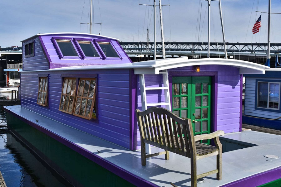 Seattle houseboat 2