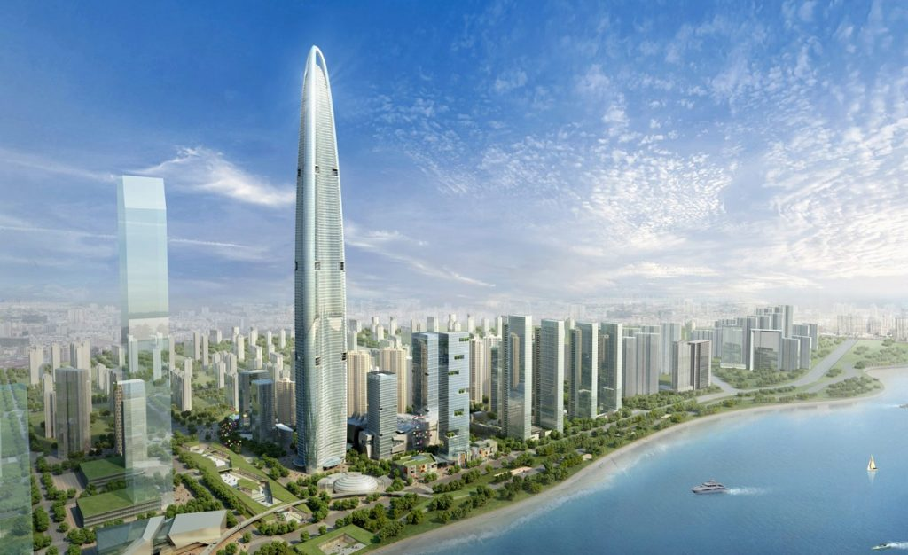 Wuhan Center rendering