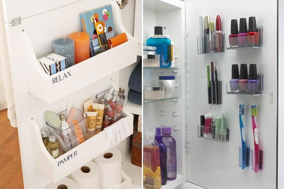 cabinet door bathroom storage