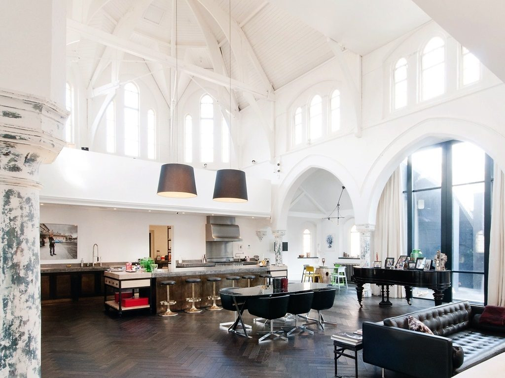 converted church house