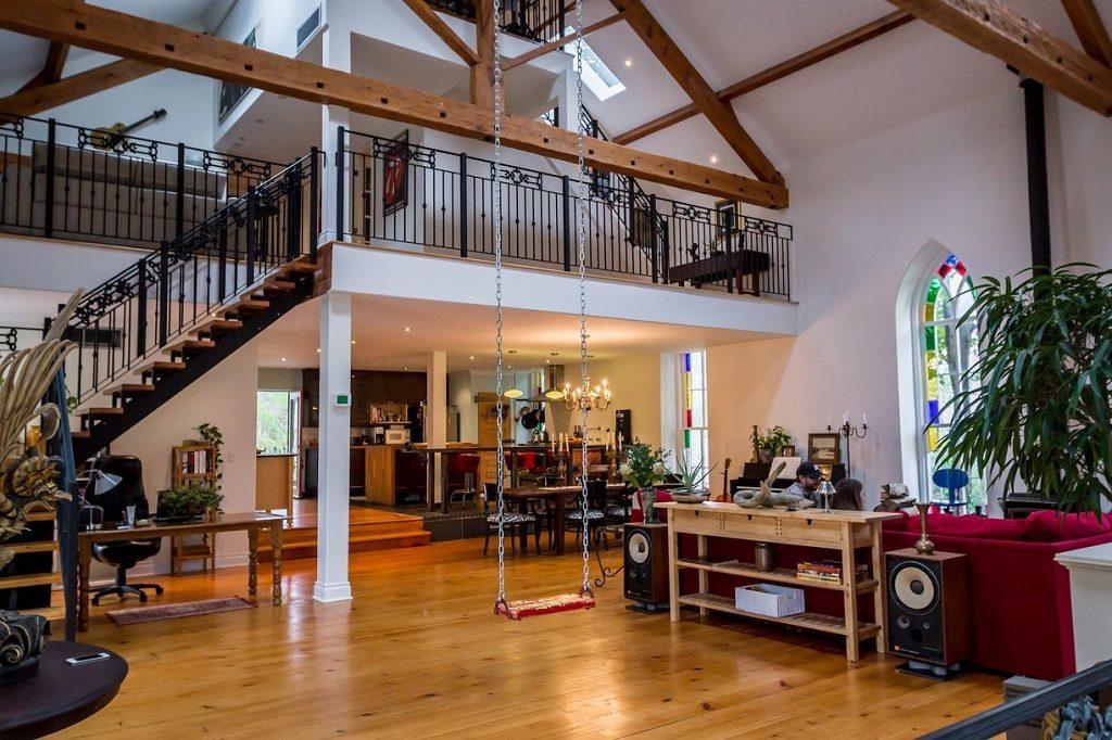 converted church loft