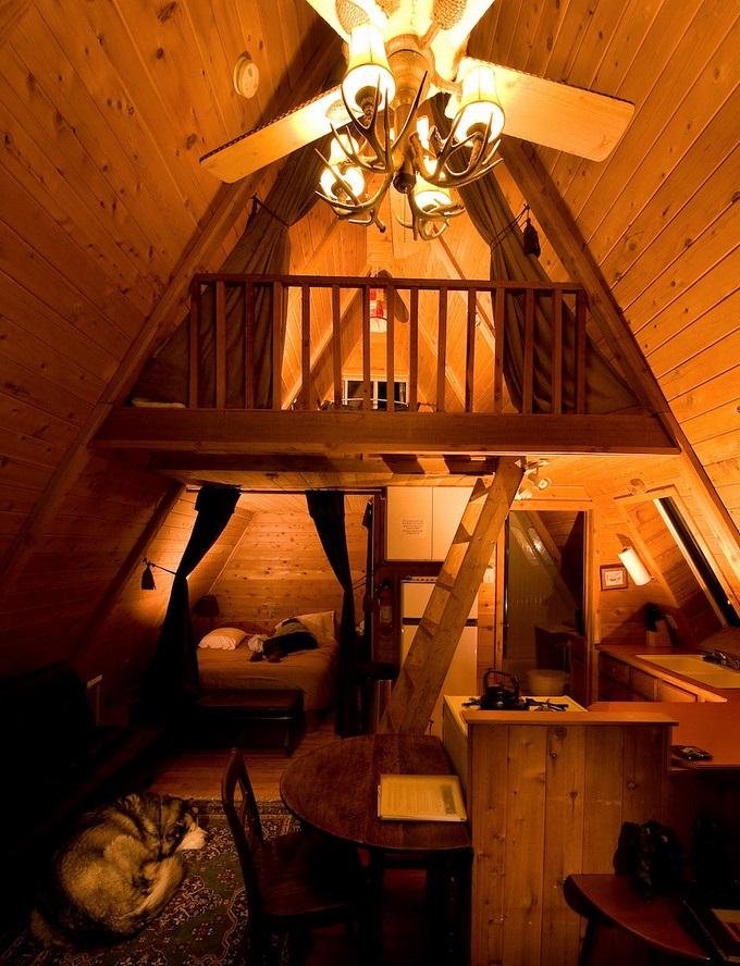 cozy loft cabin