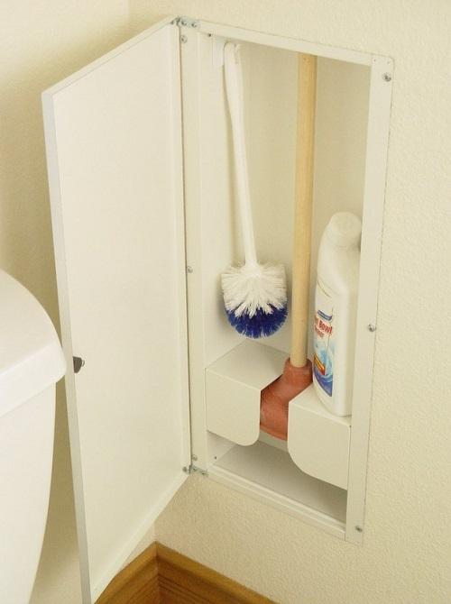 in-wall bathroom cabinet