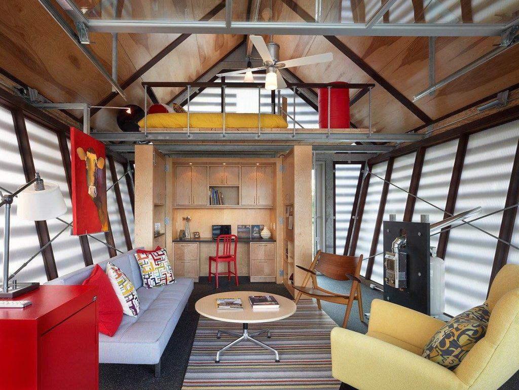 micro loft cottage