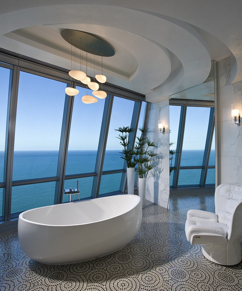 ocean bathroom