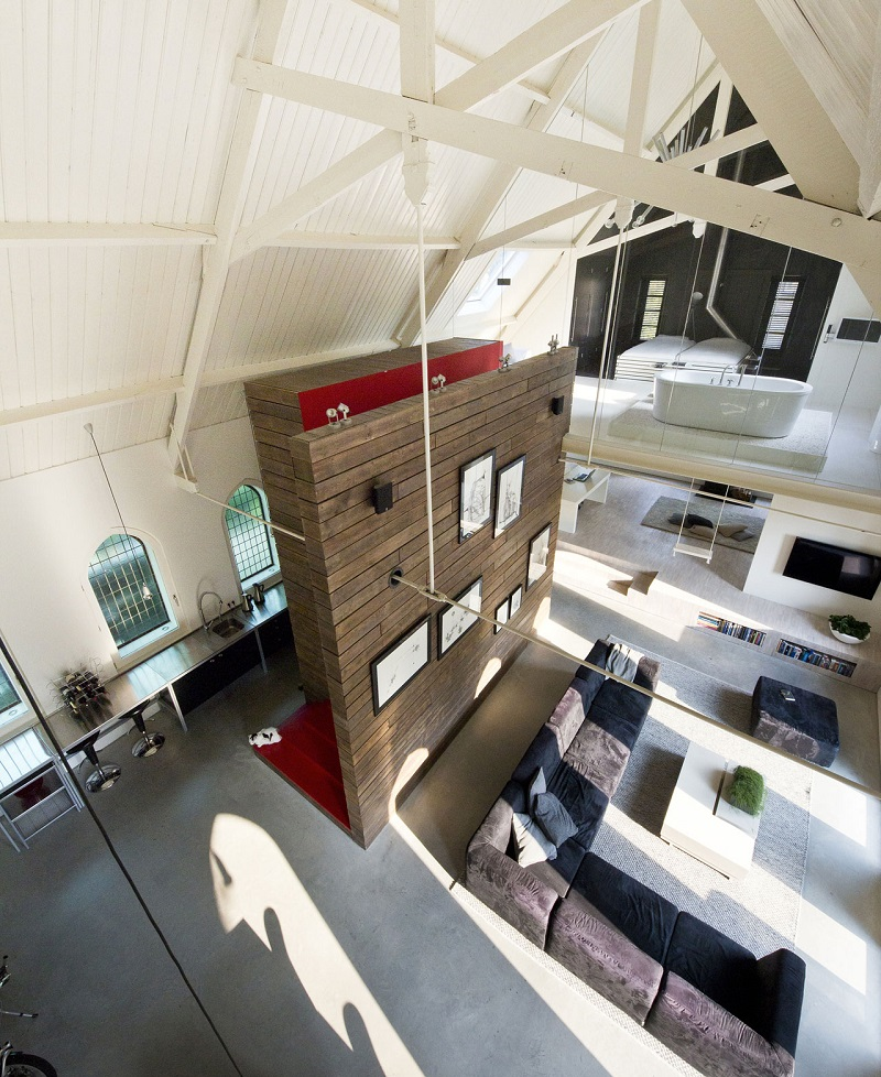open-concept church conversion