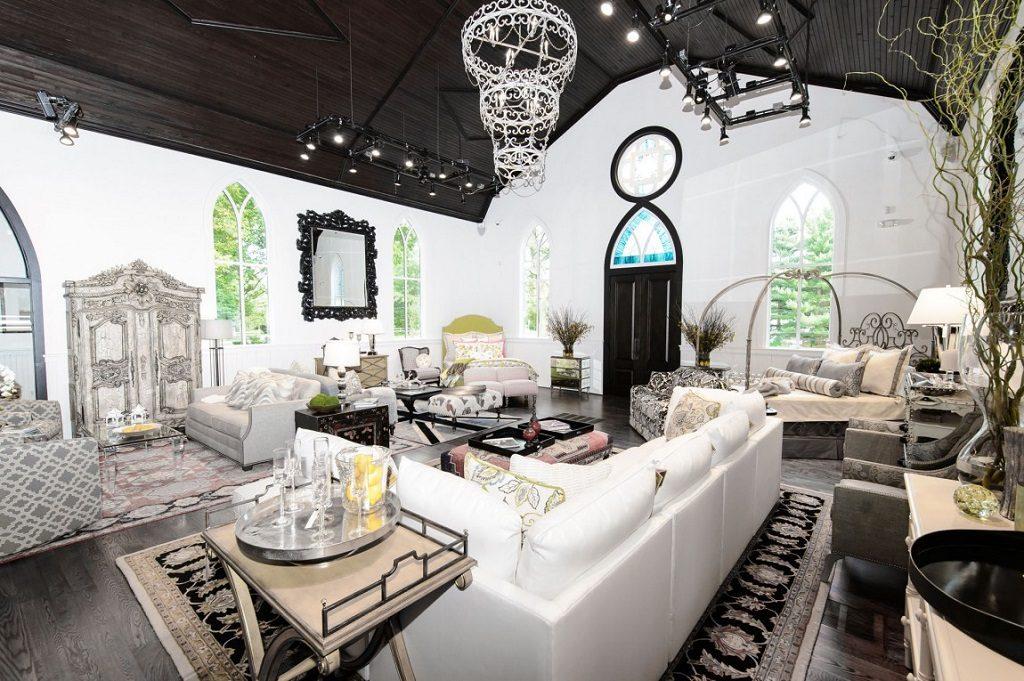 opulent church conversion