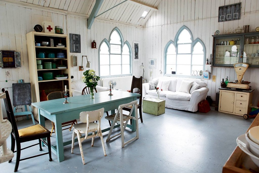 rustic church conversion