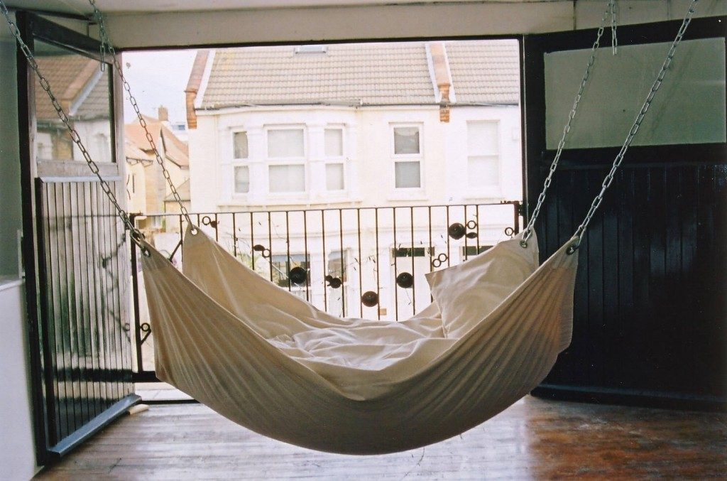 bedroom hammock bed