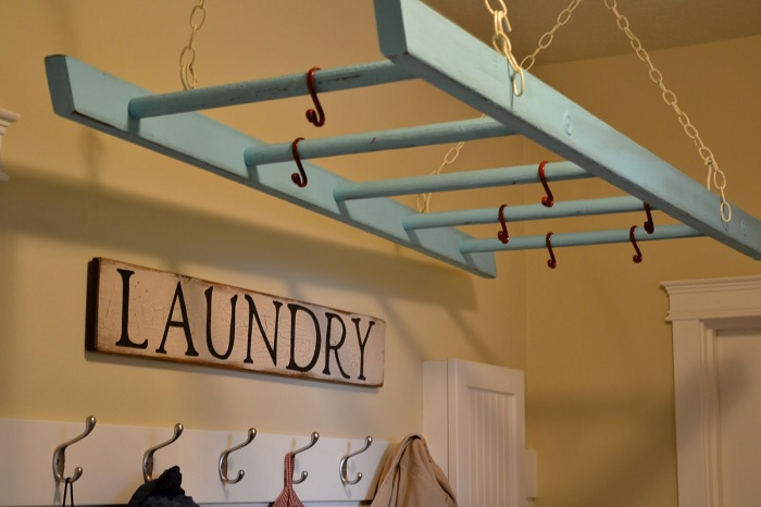 ladder laundry drying rack