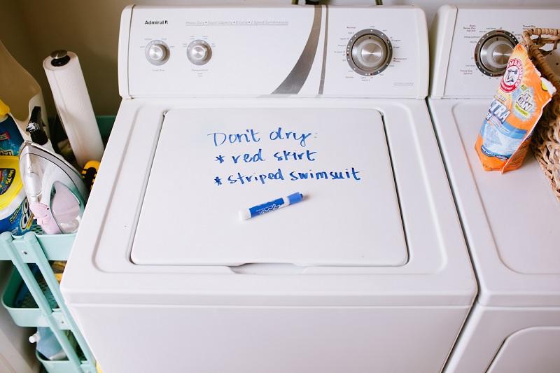 laundry dry-erase marker