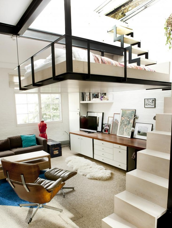 loft bed bedroom 1