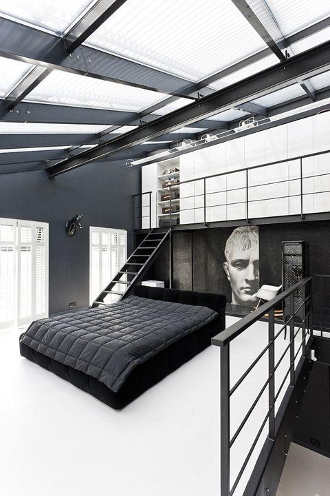 loft-bedroom-closet
