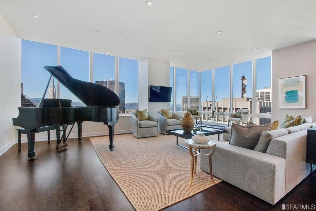 Millennium Tower apartment