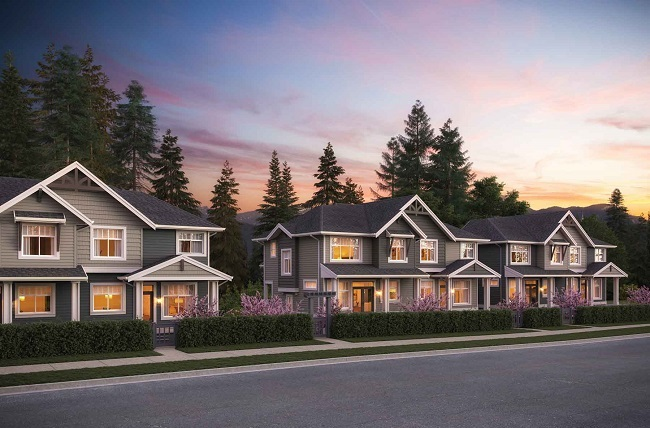 Oliver Townhomes surrey