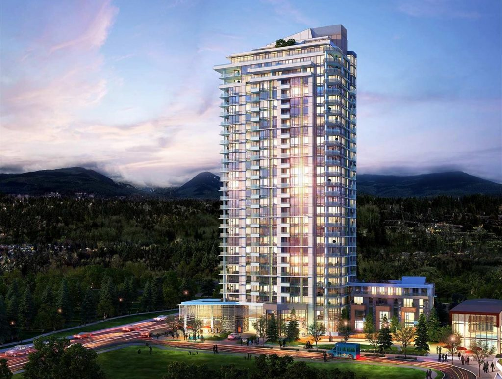 Seylynn Village North Vancouver Compass tower