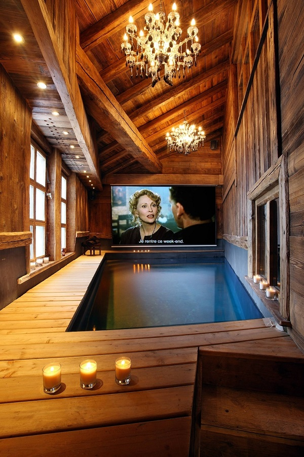 home theater pool