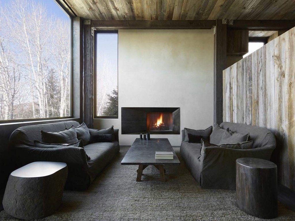 minimalist cabin