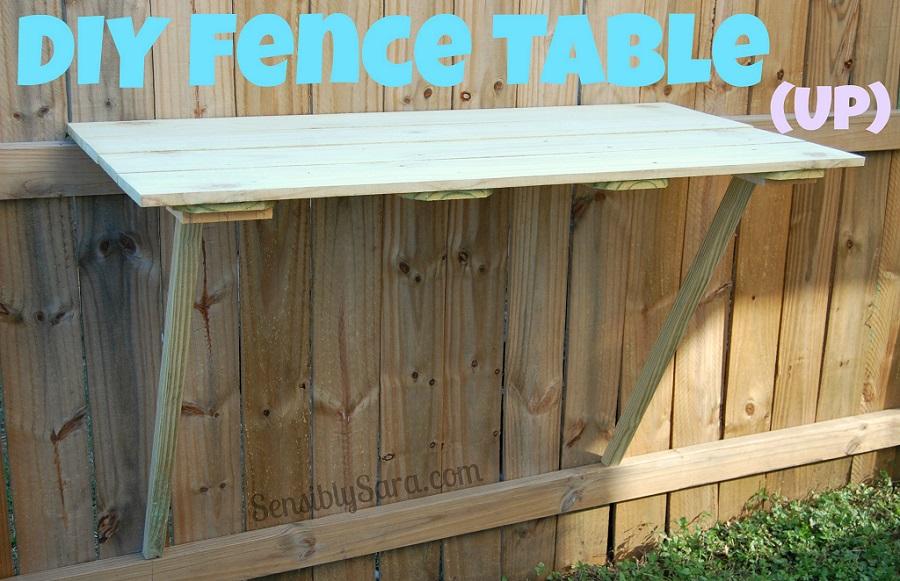 backyard fence table 1
