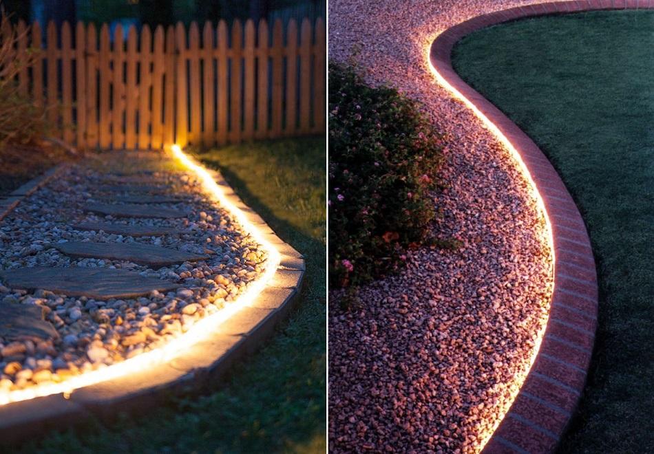 garden rope lighting