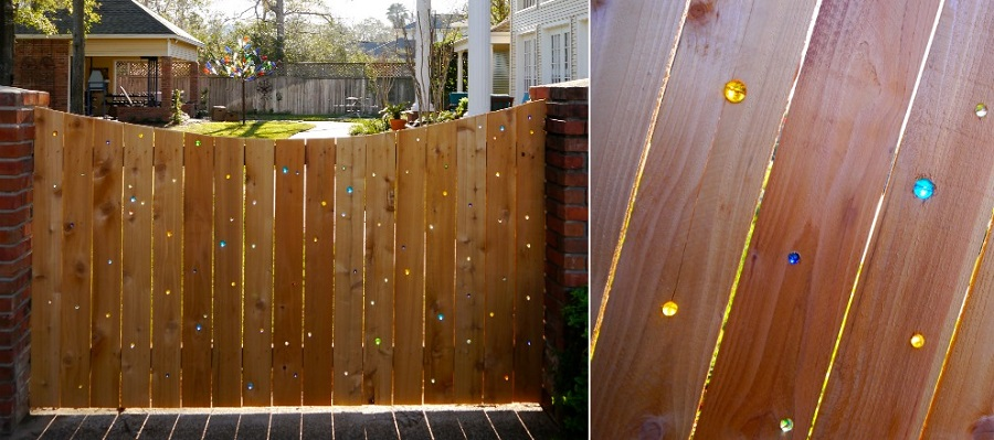 marble fence daylight