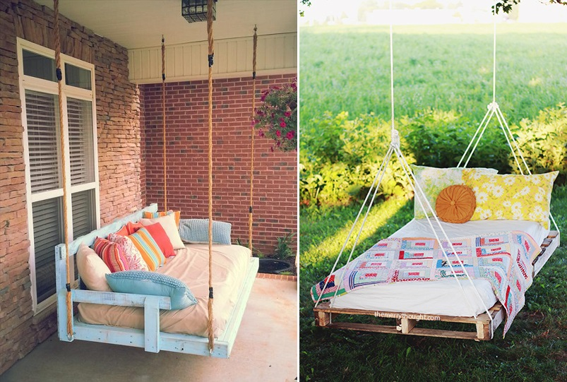 pallet swing backyard