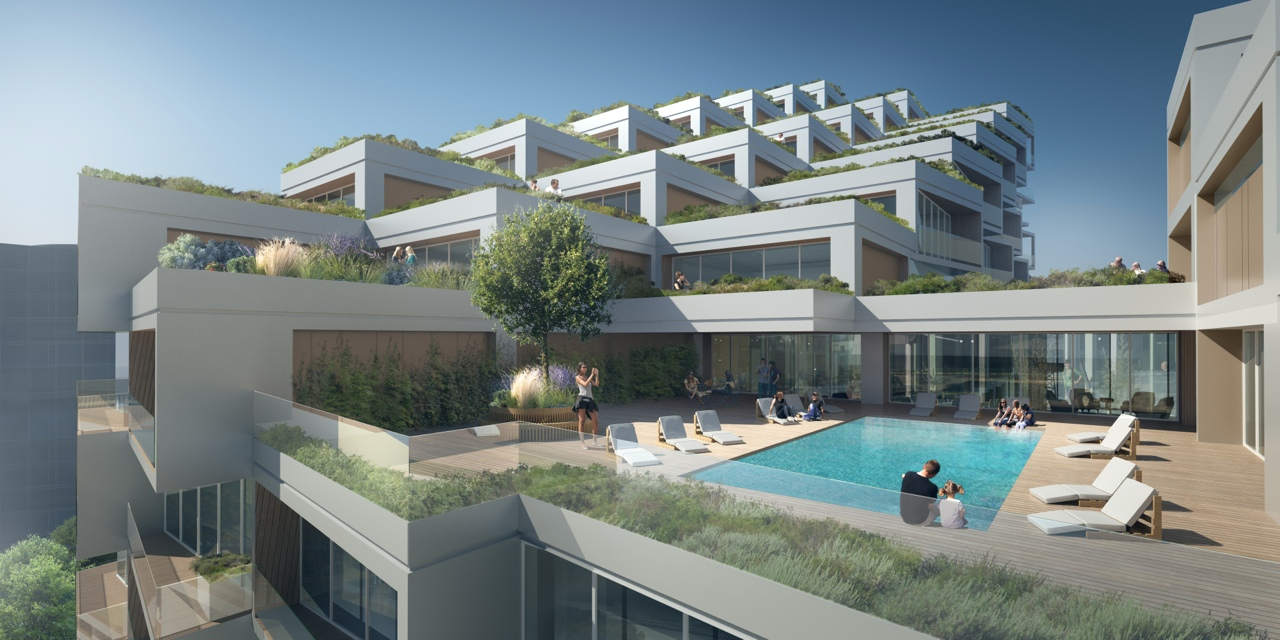 Bayside_Toronto_Phase3_Terrace (Provided by 3XN)