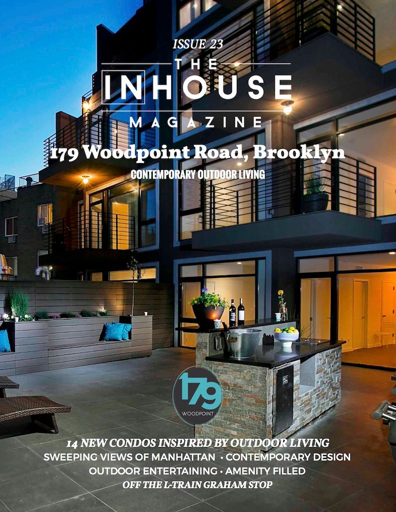 The InHouse Magazine 179 Woodpoint -- Contemporary Outdoor Living