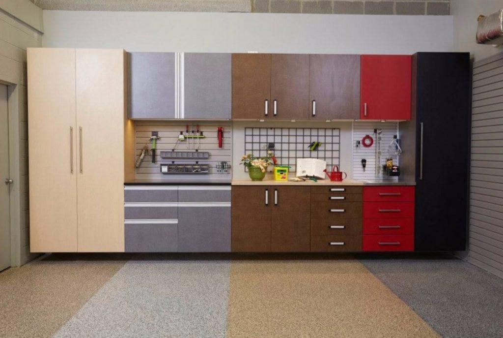 garage oganization vertical space