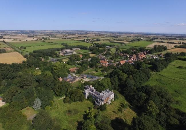 west heslerton view from above-min