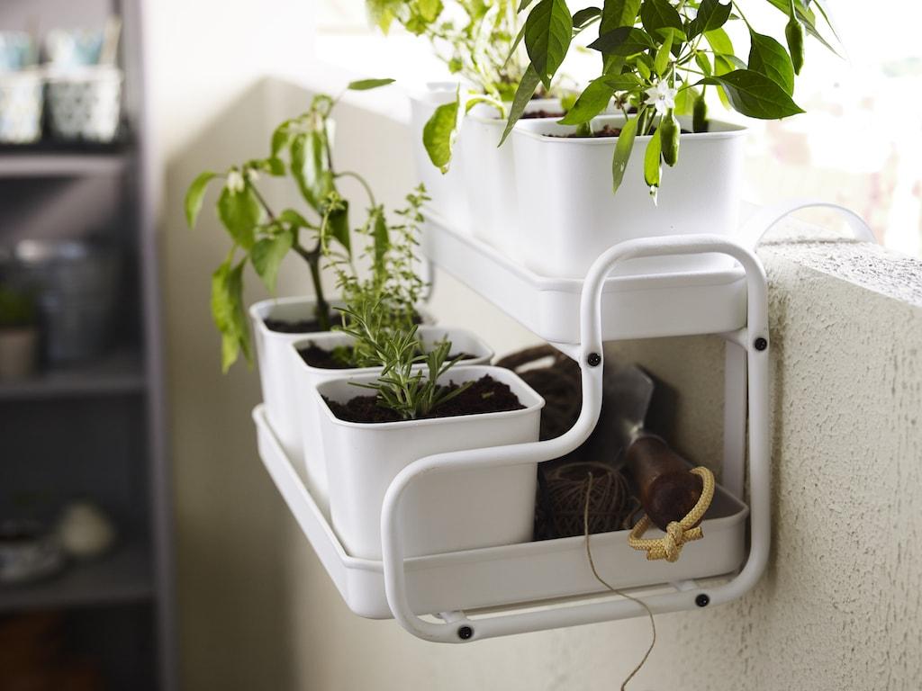 ikea balcony planters