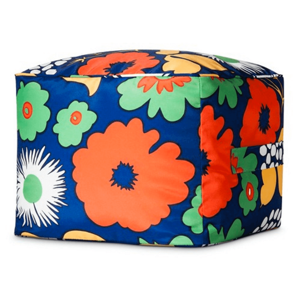 outdoor pouf target